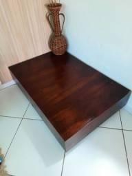 Centro de mesa de madeira