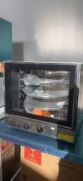 ##% forno giratório pra 3 assadeiras