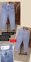 Calças novas Zara , n 38,40