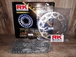 Kit Transmissão RK - XJ6 F&N Com Retentor Todos Os Anos<br><br>