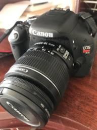 Câmera fotográfica Cânon EOS Rebel T3i