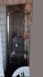 Pia de inox nova 2 metros