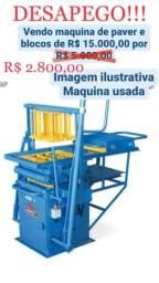 Máquina de Fabricar Blocos e Pavers