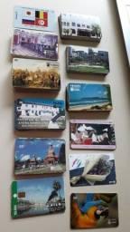 cartão telefônico raro/colecionador