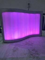 Luminária musical multicolor para ambientes