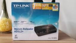 Modem Roteador ADSl2 TP-Link- TD8816