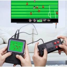 Novo Vídeo Game Retro Multiplayer Clássico Mini 400 Jogos P2
