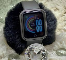 Relógio inteligente D20/Y68 Plus atualizado coloca foto