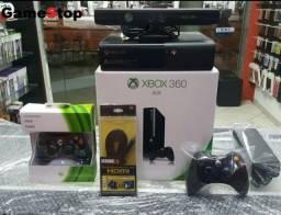 Xbox 360 Completo com Kinect Destravado HD500GB com 8000 Jogos Lançamentos (Loja GameStop)