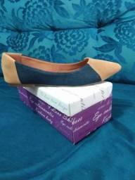 Lindas sapatilhas novas