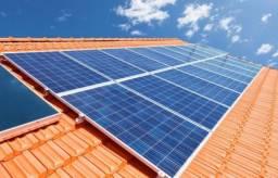 Gerador de Energia Solar - 10 painéis