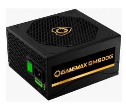 Fonte Gamemax 500W 80Plus Gold Semi-Modular (GARANTIA ATÉ 2025)