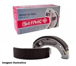 Patim de Freio (T) Titan/Fan 125/150/160 STD Diafrag