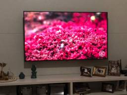 Vendo tv 55 smart 4k ultra hd completa