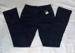 Calça jeans Skinner + camisa masculina
