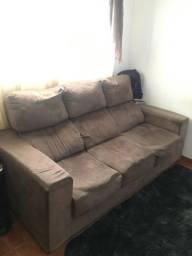 Sofa retrátil e inclinável
