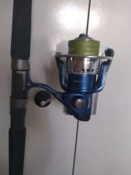 Material de pesca no mar embarcado