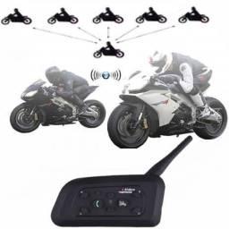 Intercomunicador Capacete Par De Comunicador Motociclista V6