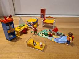 Playmobil quarto das crianças
