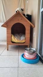 Casinha de cachorro  número 6  R$100,00