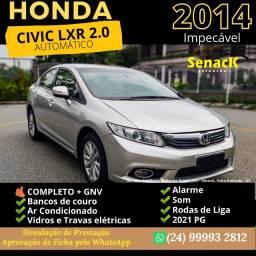 Título do anúncio: Honda Civic Lxr 2.0 Automatico 2014 c/ GNV