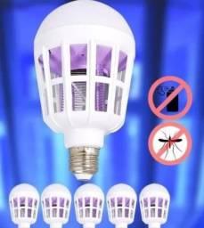 Lampada Luz Led 15 Watts Mata Mosquito Pernilongo