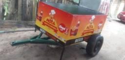 Vende-se um carrinho conpleto de vender batata frita