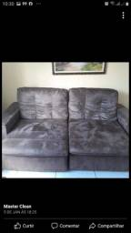 Mega promocao de limpeza de sofa