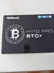 Placa mãe ASROCK H110PROBTC