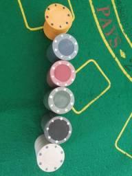 120 Fichas de Poker Profissionais
