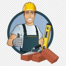 Pedreiro, pintor, encanador