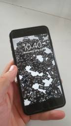 Iphone 8 plus Preto 64gb TROCO