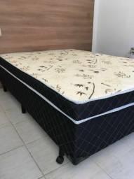 Cama box casal ( cama + colchão)