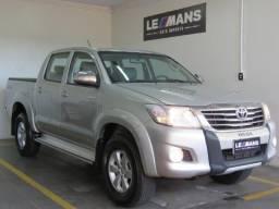 Toyota Hilux 2.7 4x4 CD Srv Flex Aut- 2013 - 2013