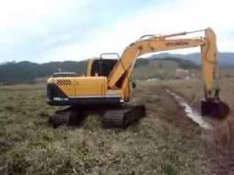 Escavadeira hidráulica Hyundai 160 9s 2015