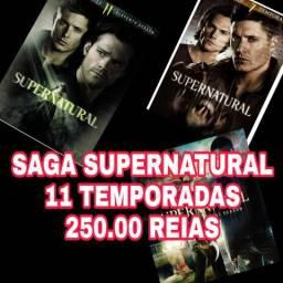 DVDs Saga SUPERNATURAL dvds filmes