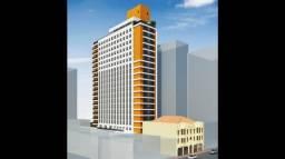 Kitnet com 1 dormitório à venda, 28 m² por r$ 234.900,00 - centro - curitiba/pr