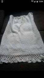 Saia de crochê nova nunca usada limda