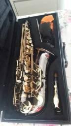 Sax Alto Eagle SA 500 Bg ,Black Onix sax praticamente novo