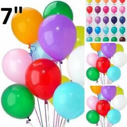 Baloes para festa colorido 10 pacotes com 50 baloes total 500 baloes frete gratis