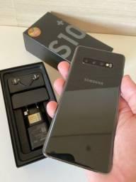 Samsung S10+ (semi novo ) 128gb na cor preta + garantia
