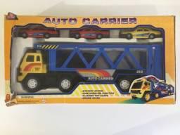 Miniatura Carreta Cegonha Auto Carrier