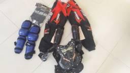 Equipamento de trilha/motocross