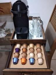 Kit cafeteira Nespresso Inissia NOVA