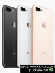 Iphone 8 Plus 256GB novo, caixa lacrada, homologado