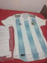 Vendo camisa da argentina original modelo jogador