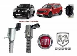 Par De Solenoide Cabeçote Fiat Freemont 2011 2012 2013 2014