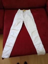 Calça branca Tam 40