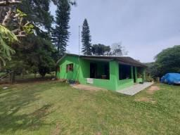 Velleda oferece belo sítio de barbada, casa 4 dorm, arborizado e telado