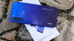 REDMI NOTE 8 T 64GB 4GB RAM - LOJA FÍSICA - NOVO LACRADO E COM GARANTIA